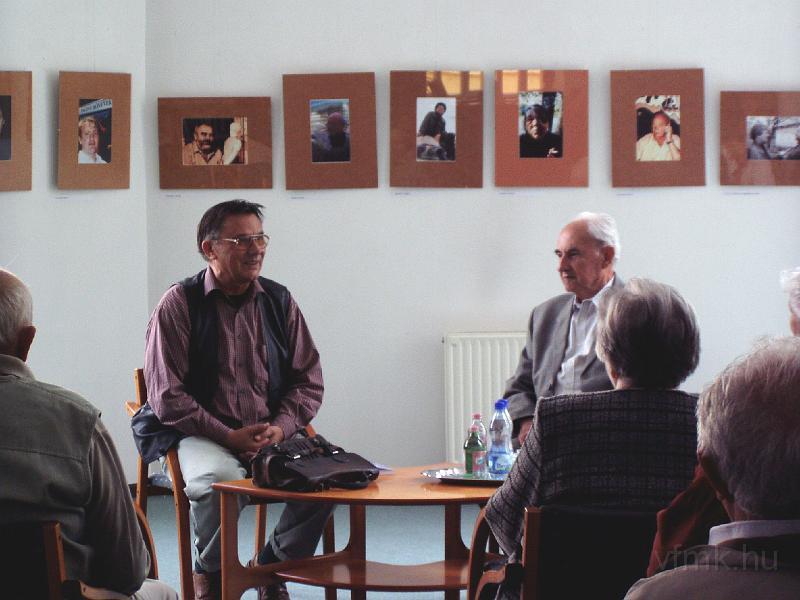 Simon Bélával Lengyel Boldizsár beszélget